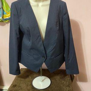 Worthington medium pin stripped blazer
